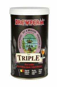 "BREWFERM Kit de cerveza en liquido ""Triple"""