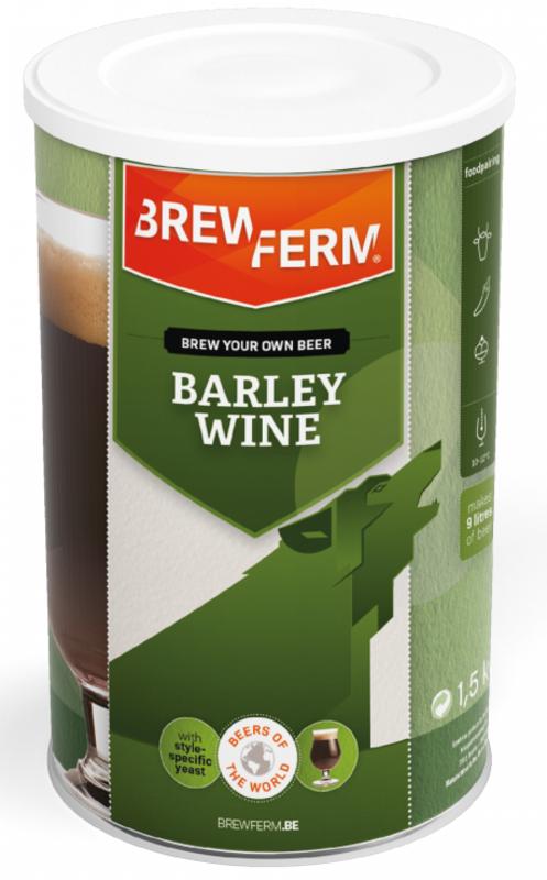 "BREWFERM Kit de Cerveza ""Barley Wine"""