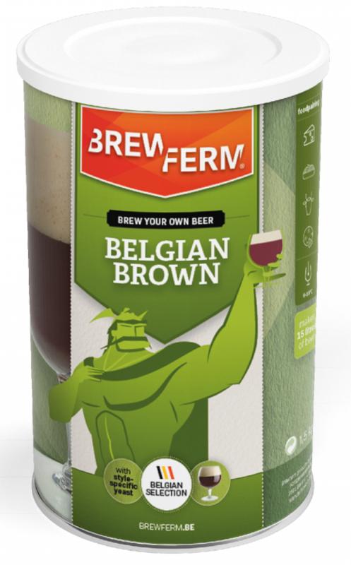 "BREWFERM Kit ""Belgian Brown"""