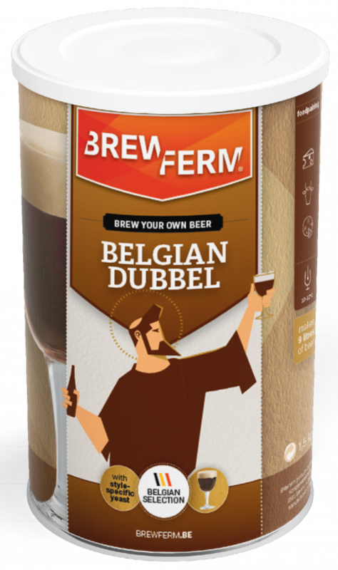 """BREWFERM Kit """"Belgian Dubbel"""""""