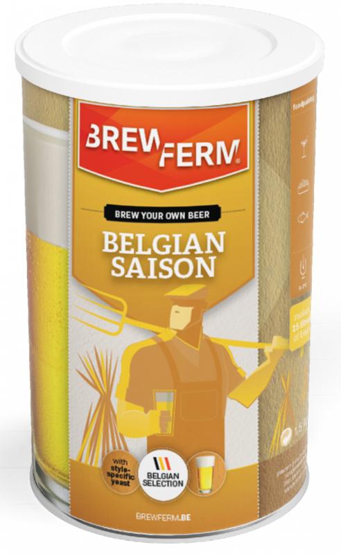 """BREWFERM Kit de Cerveza """"Belgian Saison"""""""