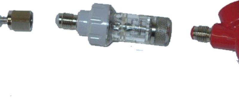 Válvula antiretorno para conector de gas barril corni
