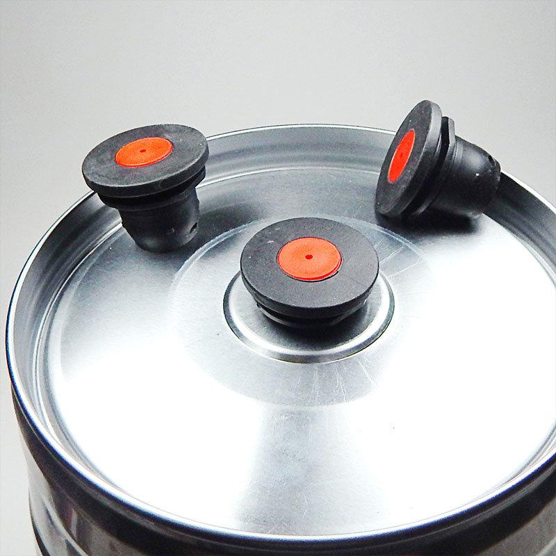 Cierre Mini-Barril con válvula de sobrepresión - Reutilizable
