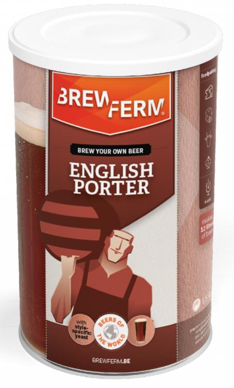 "BREWFERM Kit de Cerveza ""English Porter"""