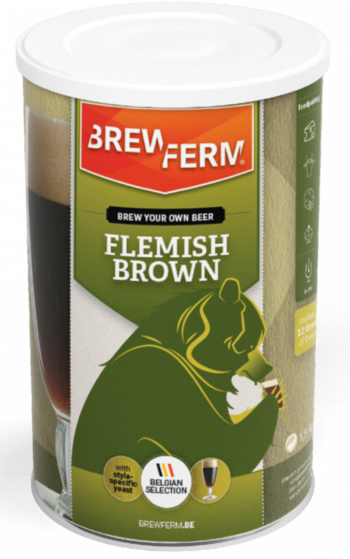"BREWFERM Kit ""Flemish Brown"""