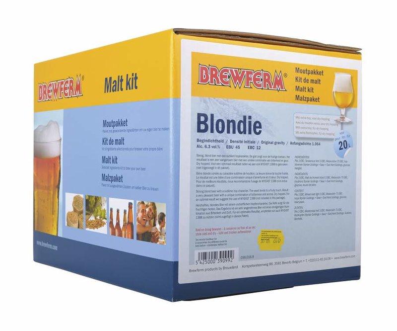 "Kit de malta en grano ""Blondie"""