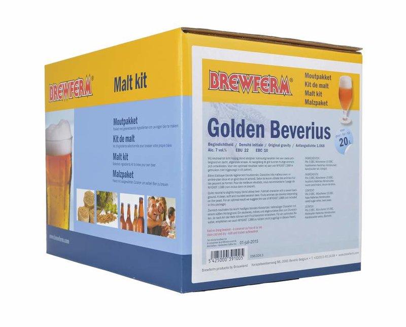 "Kit de malta en grano ""Golden Beverius"""