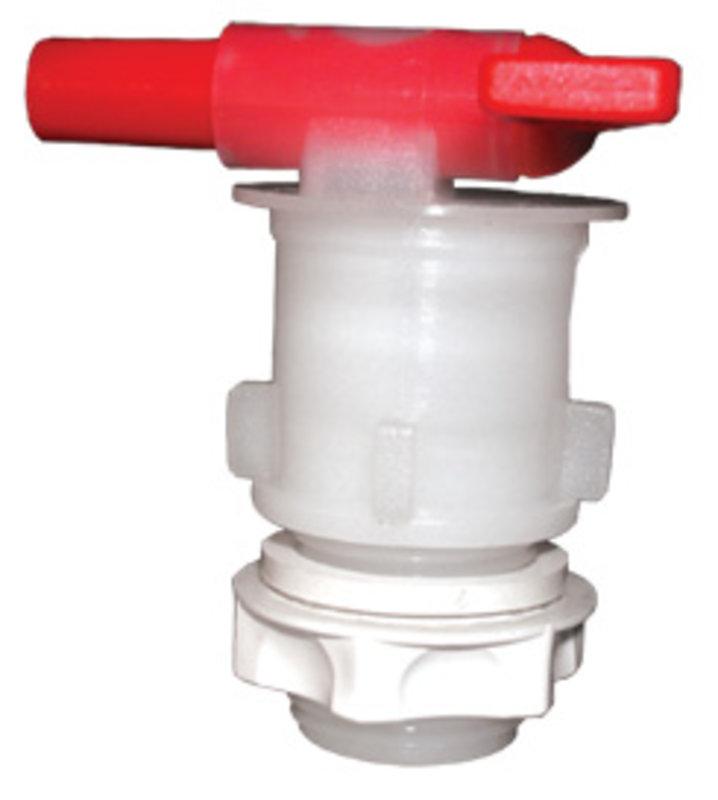 Grifo PVC con contratuerca