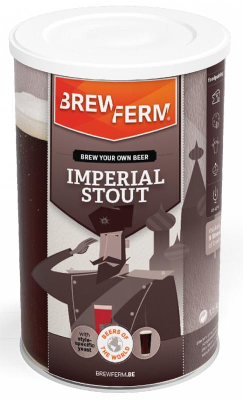 """BREWFERM Kit de Cerveza """"Imperial Stout"""""""