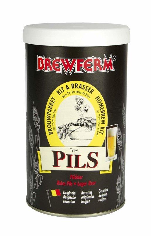 """BREWFERM Kit de cerveza en liquido """"Rubio"""""""