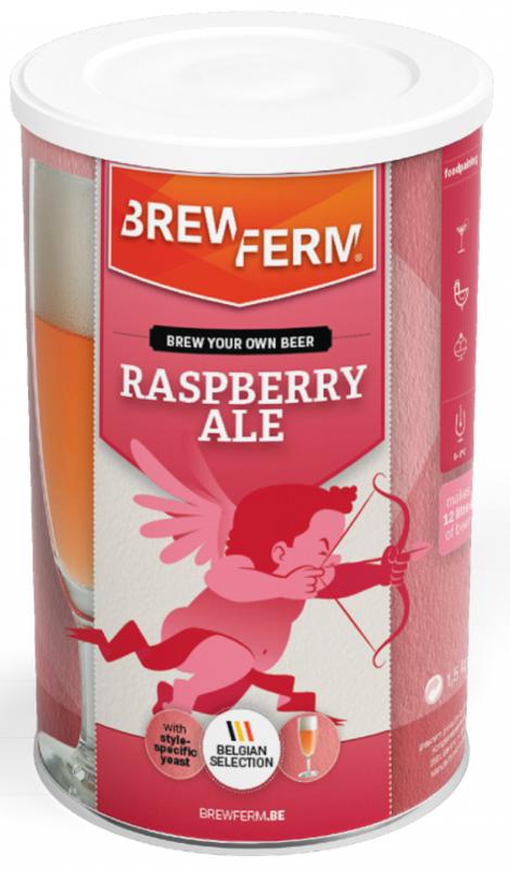 """BREWFERM Kit """"Rasberry Ale"""" - Frambuesa"""