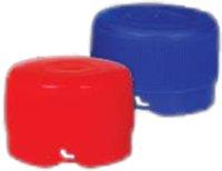 Tapones roscados de plástico <p> 100 uds. </p>