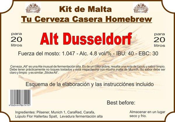 "Kit en grano ""Alt Dusseldorf"""