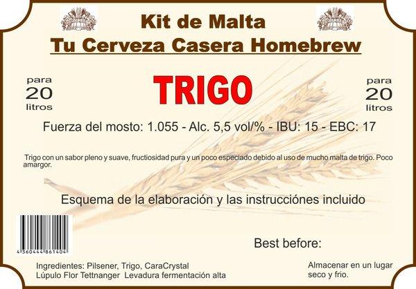 """Kit en grano """"Trigo"""""""