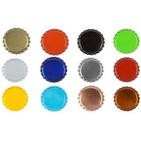 Chapas Ø 26mm - div colores <p>1.000 uds.</p>