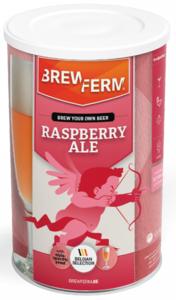 "BREWFERM Kit ""Raspberry Ale"" - lata abollada"