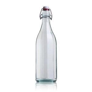 "Botella ""Alemana"" 1 Litro Transparente"