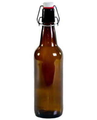12x botellas 50cl con tapónes antiguas caseras