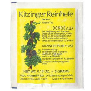 Levadura Kitzinger Bordeaux 5gr
