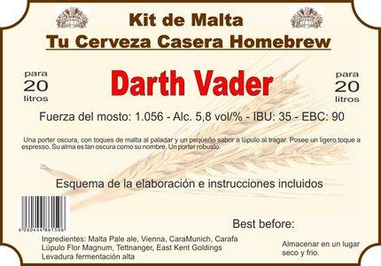 """Kit en grano """"Darth Vader"""""""