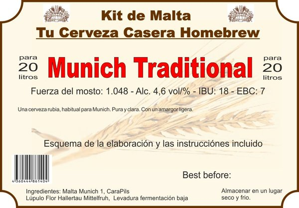 "Kit en grano ""Munich Traditional"""