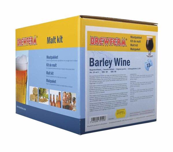 """Kit de malta en grano """"Barley Wine"""""""