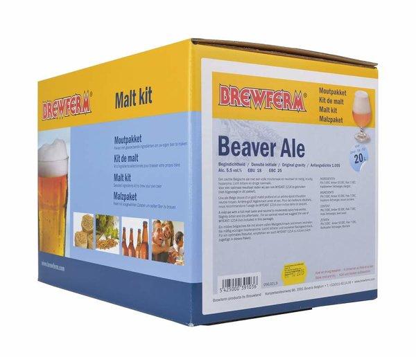 """Kit de malta en grano """"Beaver Ale"""""""