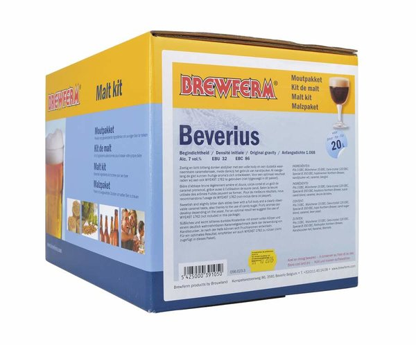 "Kit de malta en grano ""Beverius"""