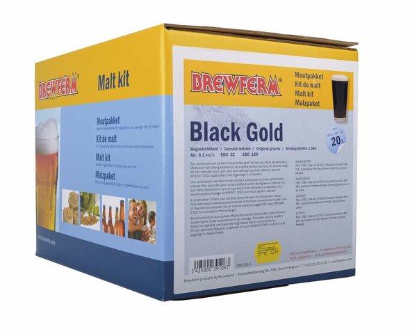 """Kit de malta en grano """"Black Gold"""""""