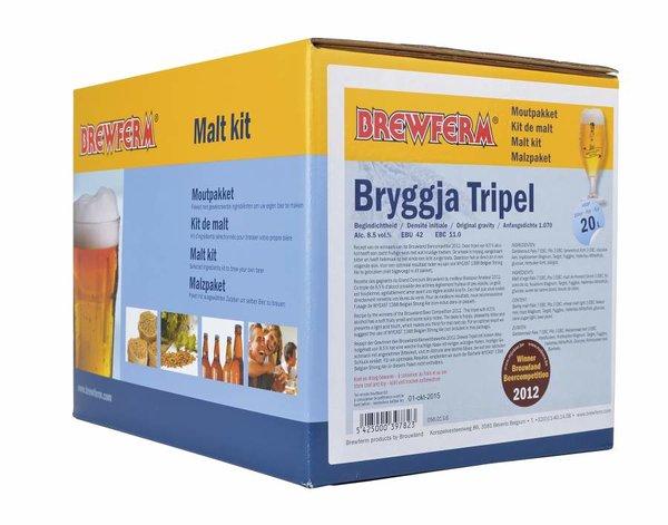 """Kit de malta en grano """"Bryggja Tripel"""""""