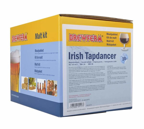 "Kit de malta en grano ""Irish Trapdancer"""