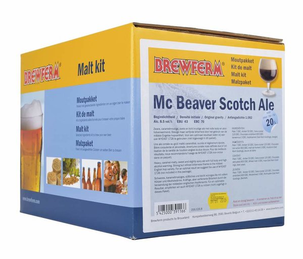 "Kit de malta en grano ""Mc Beaver Scotch"""