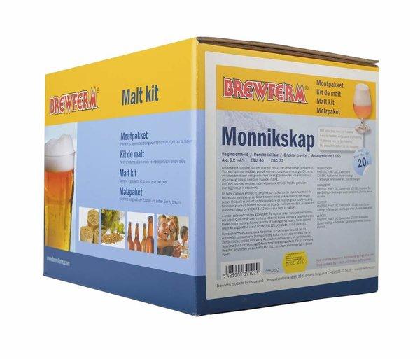 """Kit de malta en grano """"Monnikskap"""""""