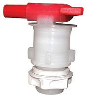 Grifo PVC con contratuerca y sistema antisedimento