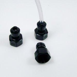 """Unión roscada 5/8"""" para conexiones rapidas ø8mm. Tubo CO²"""