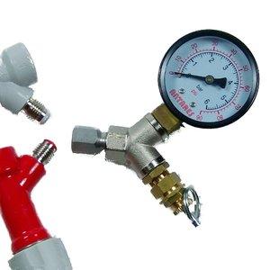 Válvula de regulación de presión ajustable