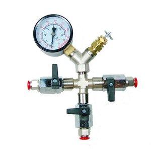 Válvula de regulación de presión ajustable 3 entradas