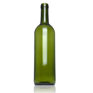 7x Botellas Vino Bordeuax 75cl Verde Natura