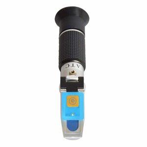 Cubierta con LED para refractometros